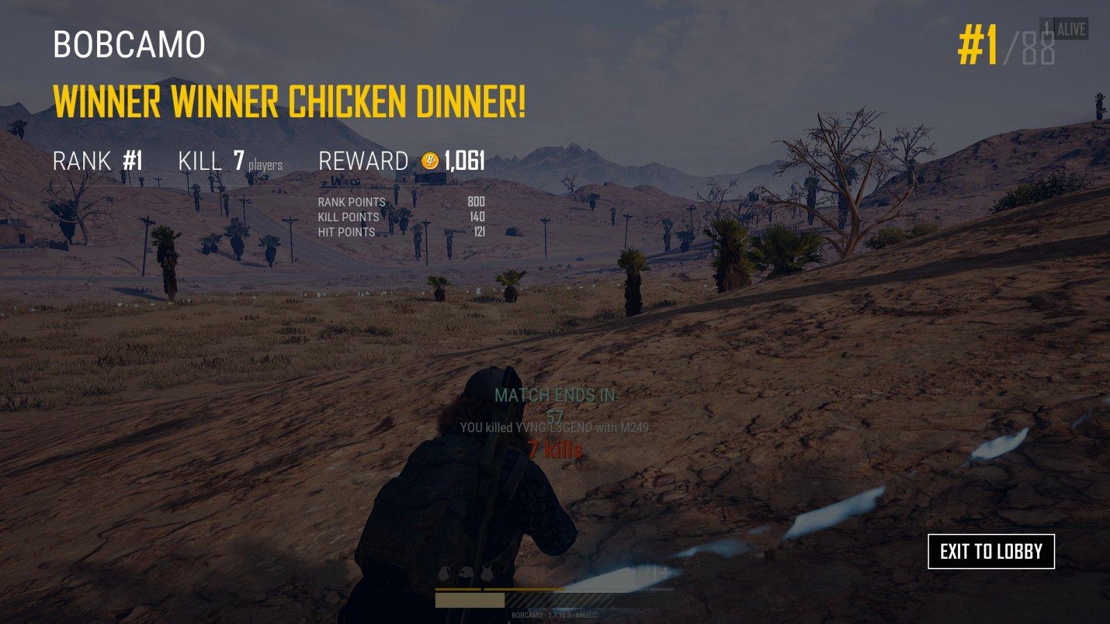 winner winner chicken dinner sas stars and stripes